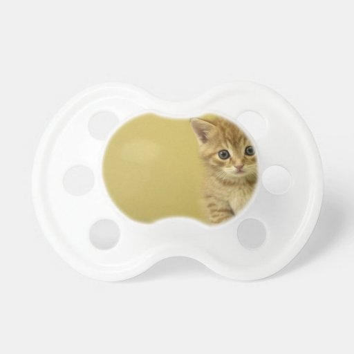 Animal - Curious Baby Kitten Pacifier