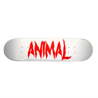 ANIMAL CUSTOM SKATE BOARD