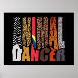 ANIMAL DANCER POSTER