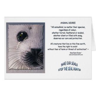 ANIMAL DECREE Cards