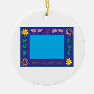 Animal Frame Ornaments