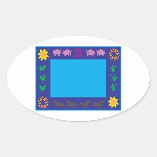 Animal Frame Stickers
