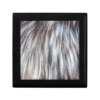animal fur gift box