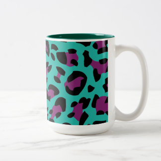 Animal fur Leopard paint Mug