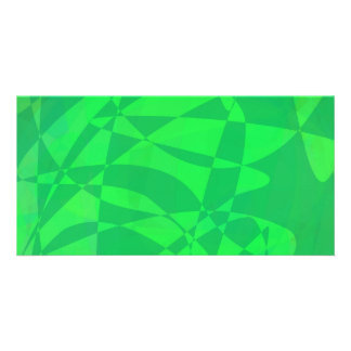 Animal Green Photo Card