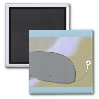 Animal Greeting Magnet (Whale)