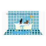 Animal Grooming Appointment Pack Of Standard Business Cards