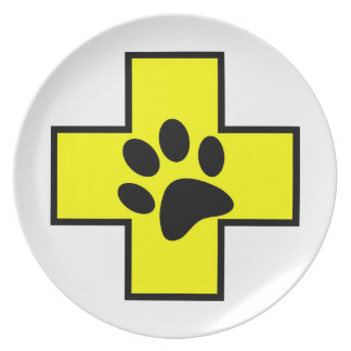 animal help cross veterinary symbol sign doctor pe plate