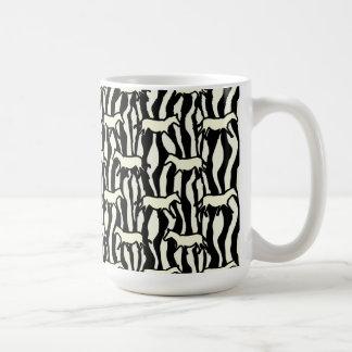 Animal Horse and Zebra Pattern Mug