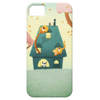 "Animal house ""Hello house"" Case For The iPhone 5"