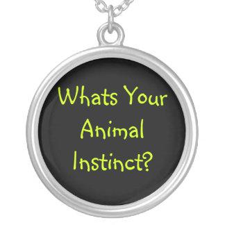 Animal Instinct necklace- Pendant