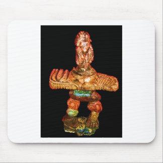 Animal Inukshuk sculpting by Hart Mouse Pad