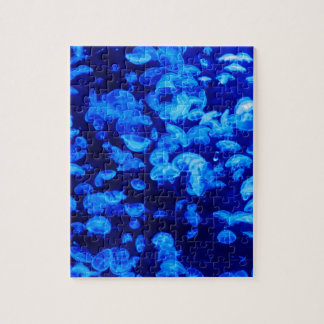 animal Jelly Fish Water Blue Jigsaw Puzzle