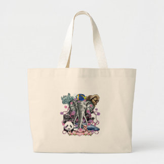 Animal Kingdom Large Tote Bag
