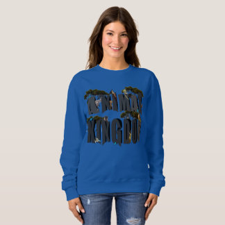 Animal Kingdom Logo With Animals, Sweatshirt