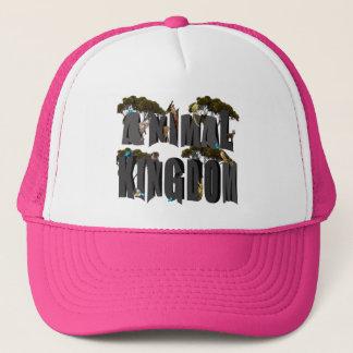 Animal Kingdom Logo With Animals, Trucker Hat