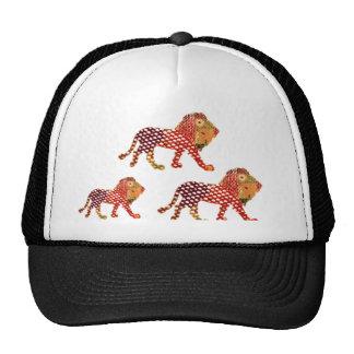 ANIMAL KINGDOM :  Painted Lion Family Cap