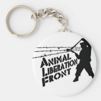 Animal Liberation Front Key Ring