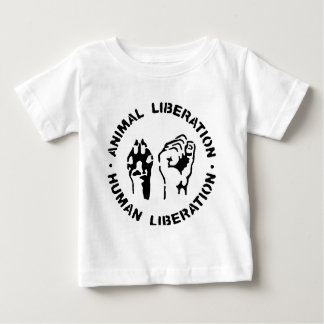 Animal LIberation - Human Liberation Baby T-Shirt