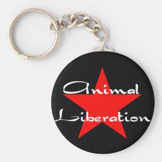 animal liberation key chain