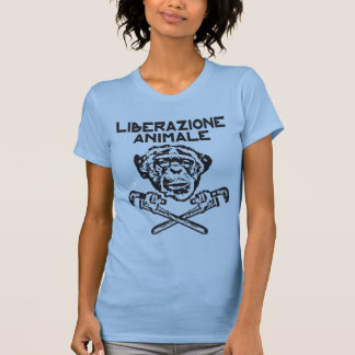 Animal Liberation t-shirt black Italiano