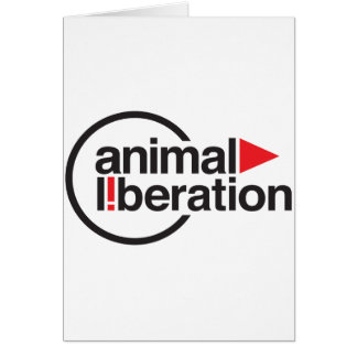 Animal Liberation t-shirt Greeting Card