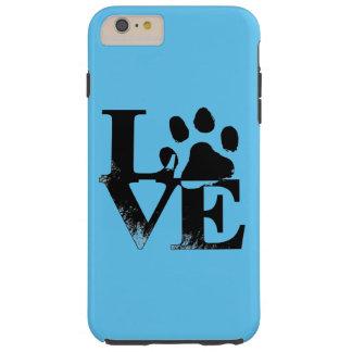 Animal Love Paw Print Phone Case Tough iPhone 6 Plus Case