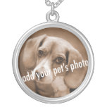 Animal Lover_Add your pet's photo necklace