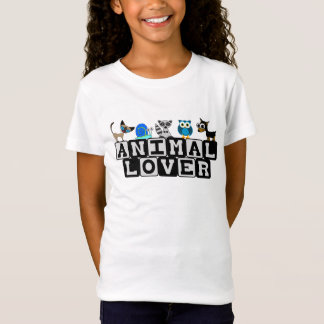 Animal Lover Childrens T-Shirt