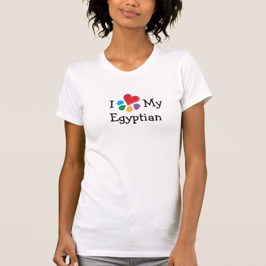 Animal Lover_I Heart My Egyptian T-Shirt