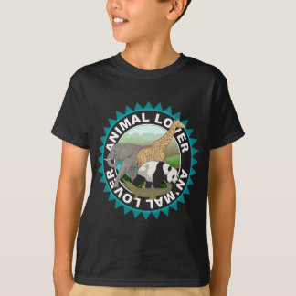 Animal Lover Logo T-Shirt