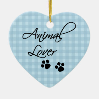 Animal Lover-paws Christmas Ornament