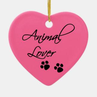 Animal Lover-paws Christmas Ornament
