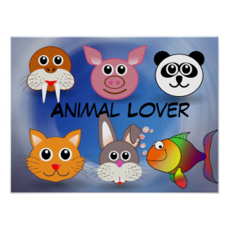 Animal Lover Poster