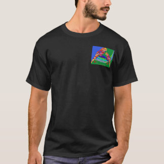 ANIMAL LOVERS - POCKET N BACK PRINT T-Shirt