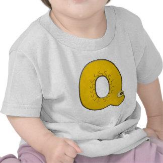 animal monogram - Q Tee Shirts