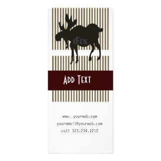 Animal Nature Moose Rack Cards