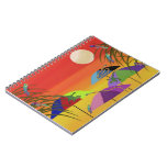 Animal Oasis Spiral Notebooks
