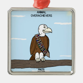 Animal Overachievers Christmas Ornament