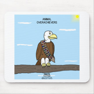 Animal Overachievers Mouse Pad