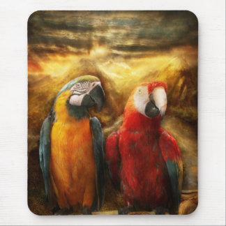 Animal - Parrot - Parrot-dise Mouse Mat