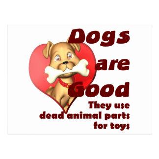 Animal Parts Postcard