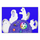 Animal Passover Seder Table Pesach greeting card