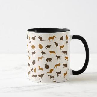 Animal pattern 1 mug