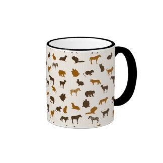 Animal pattern 1 mugs
