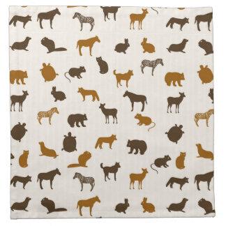 Animal pattern 1 napkin