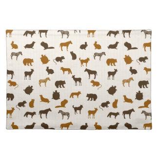 Animal pattern 1 placemat
