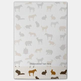 Animal pattern 1 post-it notes