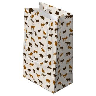 Animal pattern 1 small gift bag