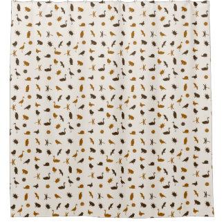 Animal pattern 2 shower curtain